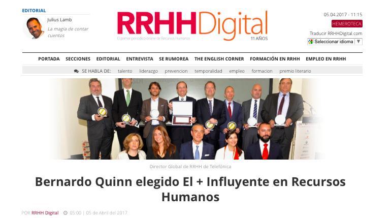 los + infuyentes en RRHH