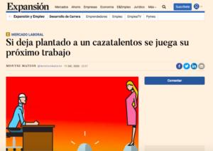 Jose Antonio García en Expansion: decir no