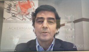Miguel Picardo, en webinar UNEF